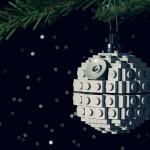 Lego birodalmi csillag karácsonyfára