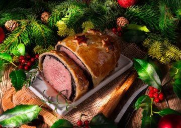 Karácsonyi klasszikus wellington bélszín gombával