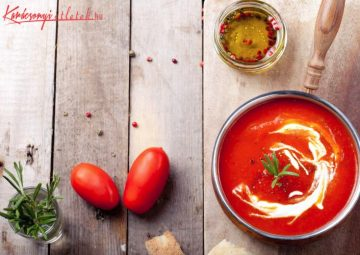 őszi paradicsom leves