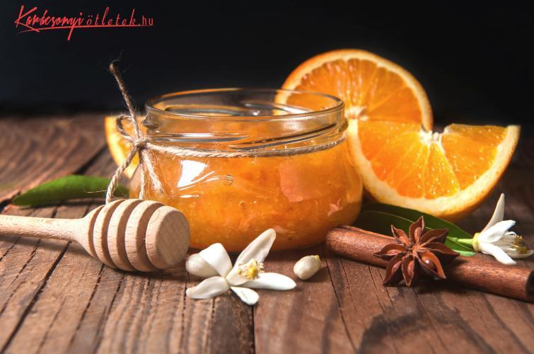 finom narancs lekvár